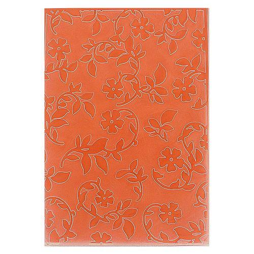 Placa de Textura Emboss 10,6 cm x 15 cm Flores
