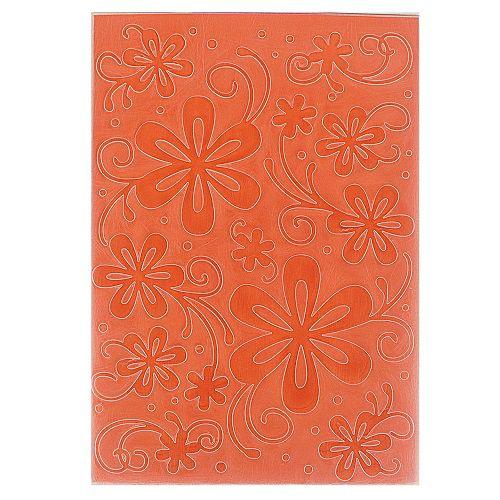 Placa de Textura Emboss 10,6 cm x 15 cm Margarida
