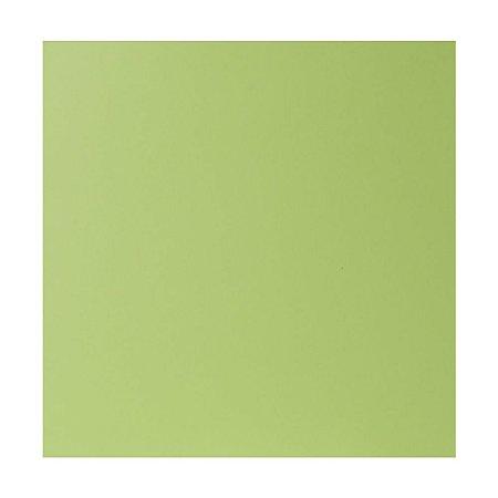 Kit Papel Cardstock Scrap Primavera Verde Claro 5 Folhas