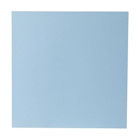 Kit Papel Cardstock Scrap Azul Claro 5 Folhas