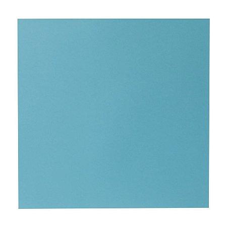 Kit Papel Cardstock Scrap Sky Céu Azul Petróleo 5 Folhas