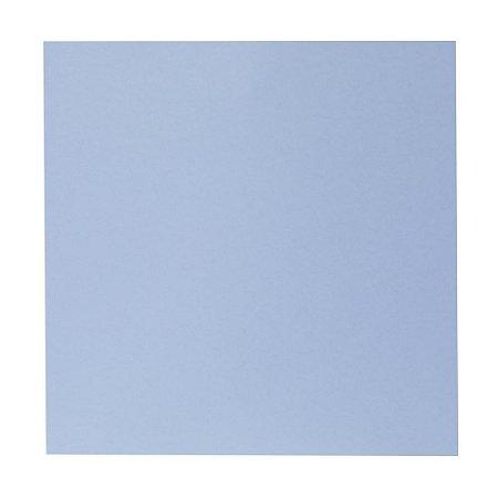 Kit Papel Cardstock Scrap Sky Céu Azul Baby Blue 5 Folhas