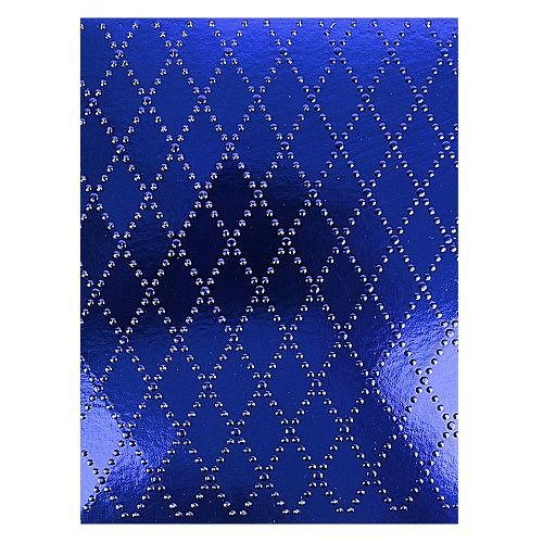 Placa de Textura Emboss 11 cm x 14,6 cm Losango Poá