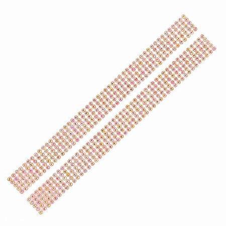 Adesivo Chaton Decorativo Vermelho Cristal 100 Unidades