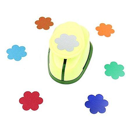 Furador para Papel 2,5 cm Flor 6 Pétalas