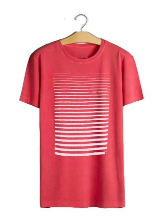 Camiseta Line Red