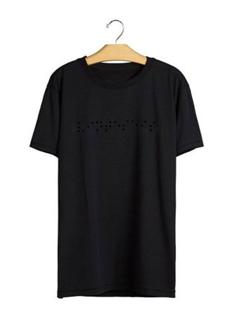 Camiseta Braile Black