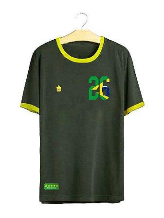 Camiseta Brasil Retrô