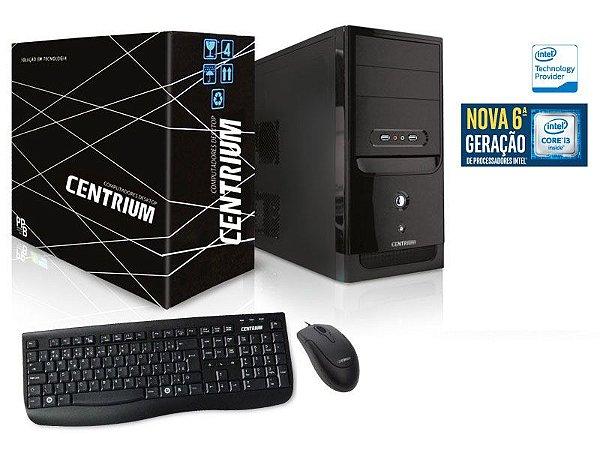 COMPUTADOR INTEL CENTRIUM FASTLINE 6100 INTEL CORE I3-6100 3.7GHZ 8GB 1TB LINUX