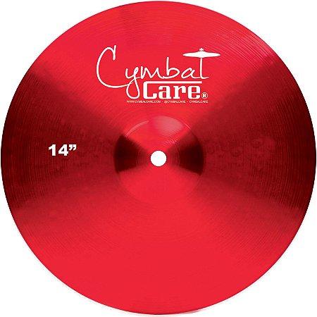 Capa CymbalCare RD Cor: Vermelho