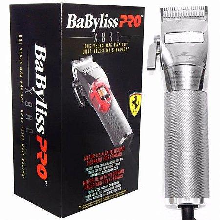 Máquina de Corte Profissional BabyLiss Pro - Ferrari - X880