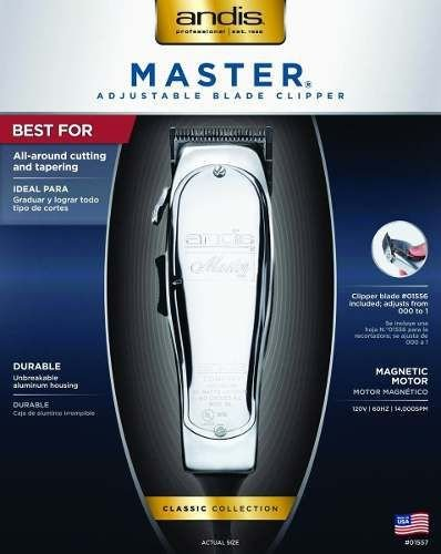 Master with Fade Blade Hair Clipper - 14000spm - Andis