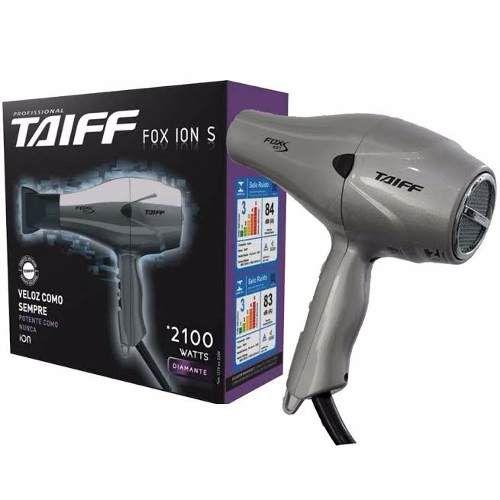 Secador Taiff Fox Ion S 2100w - Profissional 110v e 220v