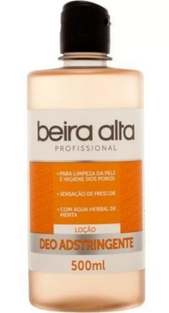 Loção Deo Adstringente Beira Alta - Profissional - 500ml
