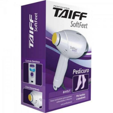 Pedicuro Taiff Soft Feet Bivolt Profissional