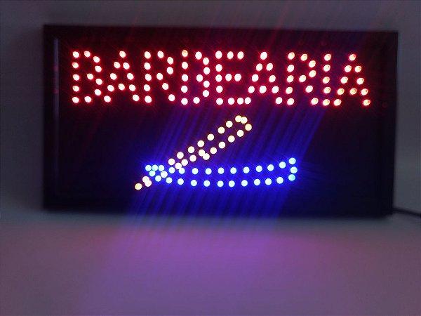 Placa Led de Barbearia - 110v