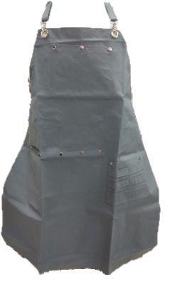 Avental em Tecido Corino - Cinza