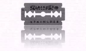 Lâmina de Barbear Wilkinson (Aço) - 3 Cartelas com 60 Lâminas (180 Lâminas)