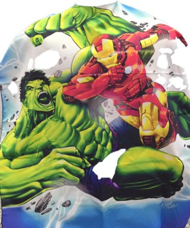 Capa de Corte Infantil Hulk - Botões