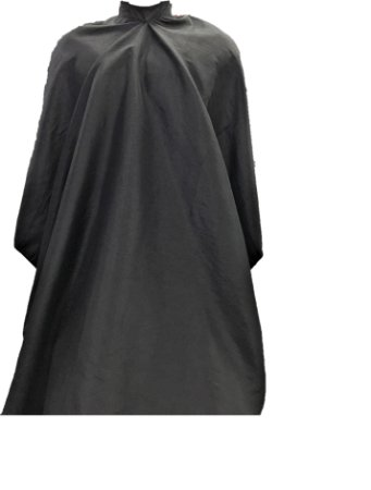 Capa de Corte em Tafetá Cor Preta - Tam. Adulto (Grande)