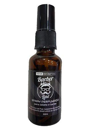 Spray Perfumado Barber Line -  Cabelo e Barba (30ml)