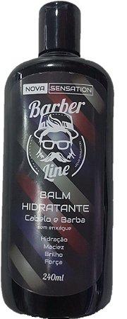 Balm Hidratante Barber Line - Cabelo e Barba - (240ml)