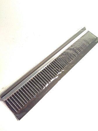 Pente Cabo de Alumínio e Dentes de Aço Polido - Ref P13