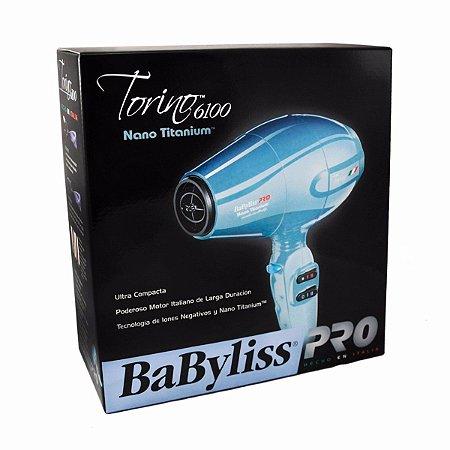 Secador Profissional BabyLiss Pro Torino 6100 - 2000w - 110 e 220v