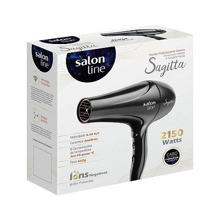 Secador Sagitta  2150w - 110v - Salon Line - Ìons Negativos