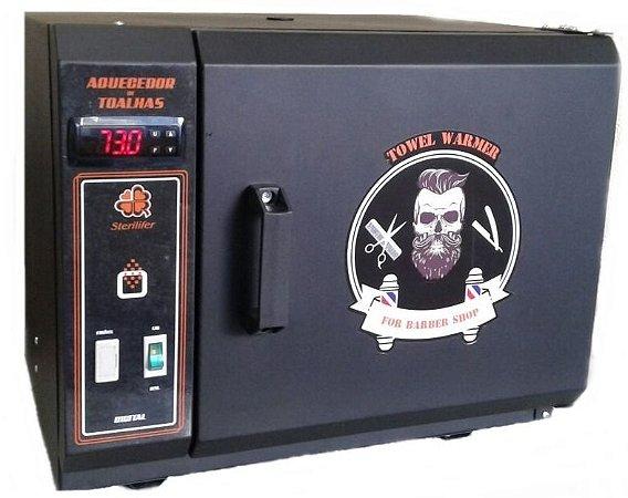 Aquecedor de Toalha para Barbearias Sterilifer Towel Warmer (Digital - 16 Toalhas)