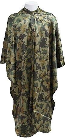 Capa de Corte em Cetim - Beauty Camuflage - Tam. Adulto (Padrão)