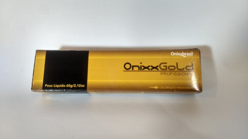 Coloração Permanente Onixx Gold Profissional - Onixx Brasil - 60g - Louro Médio