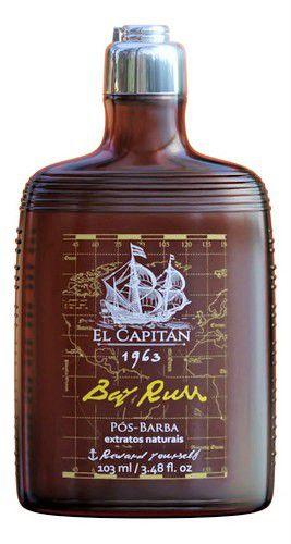 Pós Barba El Capitán 1963 - Bay Rum (103ml)