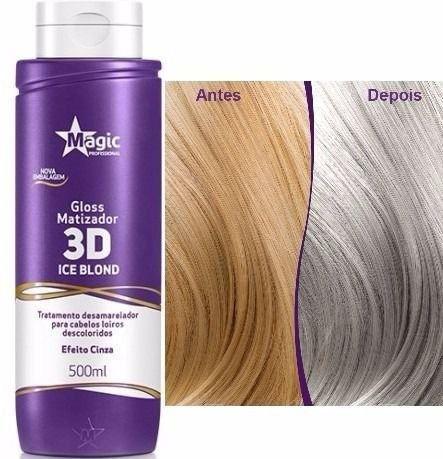 Magic Color Gloss Matizador 3D - Ice Blond - 500ml