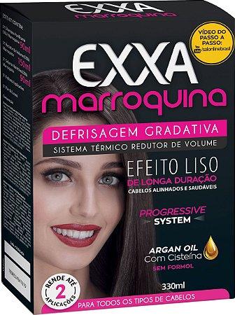 Kit Salon Line Exxa Defrisagem Gradativa Marroquina - 330ml