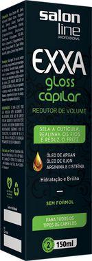 Redutor de Volume Capilar Exxa Gloss - Salon Line - 150ml