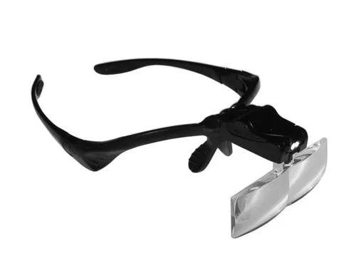 Óculos Profissional de Aumento com Luz Led para Trabalhos de Precisão