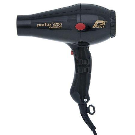 Secador Parlux 3200 -  1900w - Preto