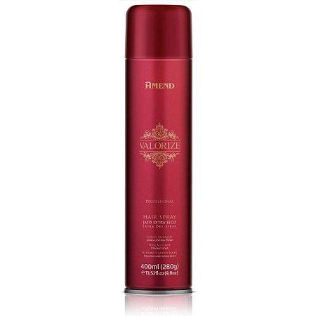 Hair Spray Amend Valorize - Fixação Forte - 400ml