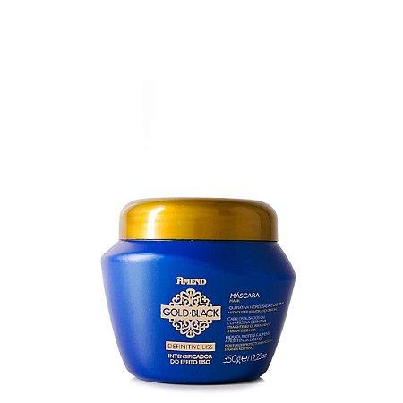 Máscara Intensificadora do Efeito Liso Amend Definitive Liss Gold Black COM SELO (350g)
