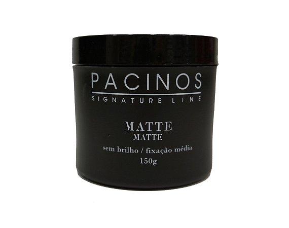 Pacinos Pomada Matte - Signature Line - Sem brilho / fixação média - 150g