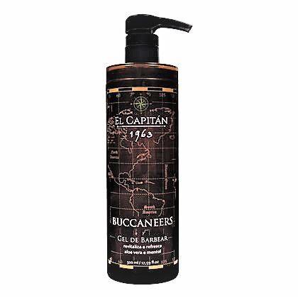 Gel Para Barbear El Capitán Buccaneers  (500ml)