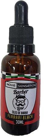 Óleo para Barba Barber Line Ferrari Black (30ml)
