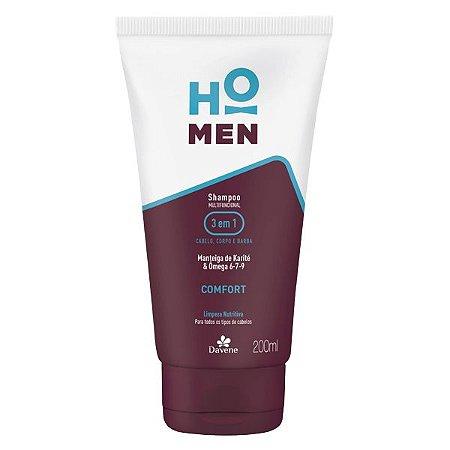Davene Shampoo 3 em 1 Comfort HO MEN - 200ml