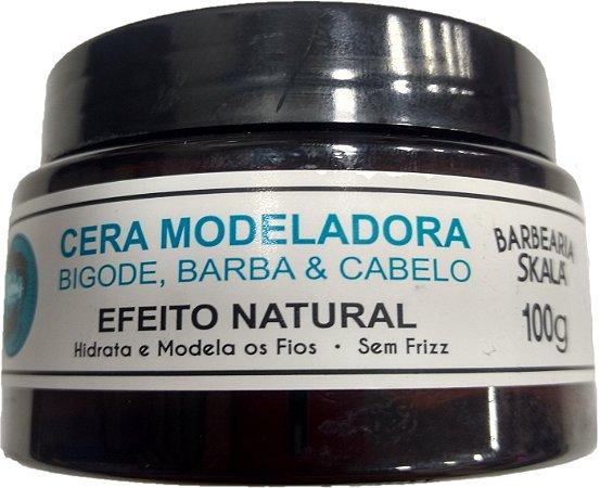 Cera Modeladora Barba, Bigode & Face - Barba's Skala (100g)