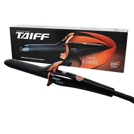 "Modelador de Cachos Taiff Curves 3/4"" 19mm - 210ºC (Bivolt)"