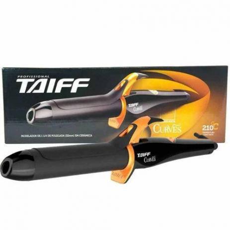 "Modelador de Cachos Taiff Curves 1""1/4 32mm - 210ºC (Bivolt)"