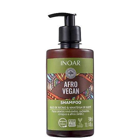 Shampoo Inoar Afro Vegan - 300ml
