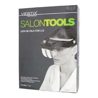 Lupa de Pala Vertix Salon Tools (Com Luz) - Ref. 3056