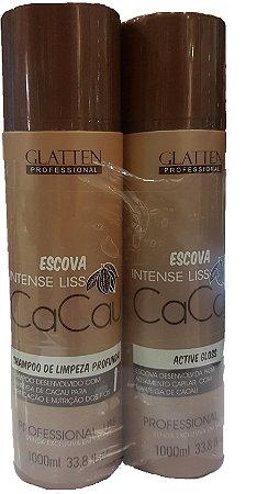 Escova Progressiva de Cacau Glatten Intense Liss (2x1L)